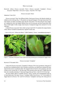 Carnivorous Plant Newsletter v44 n1 March 2015