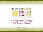 Weaving a Moral Ecology