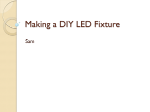 Making a DIY LED Fixture