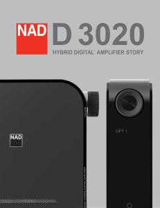 D 3020 Hybrid Digital Amplifier