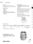 AdaptaBeacon® PLC Compatible Strobe Light