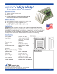 Accustat Independence product data sheet.indd
