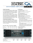 ca18 power amplifier