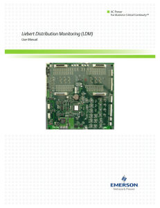 Liebert Distribution Monitoring (LDM)