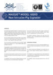 MAGSIG™ MODEL 4000D Non Intrusive Pig Signaller