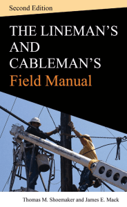 The Lineman`s and Cableman`s Field Manual