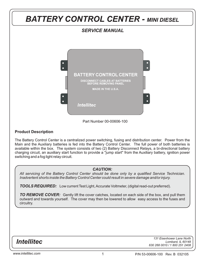 Battery Disconnect Switch Wiring Diagram On Intellitec Wiring Diagram