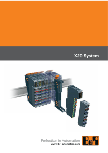 X20 System - Motor Systems, Inc.
