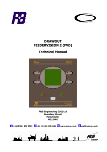 DRAWOUT FEEDERVISION 2 (FVD) Technical