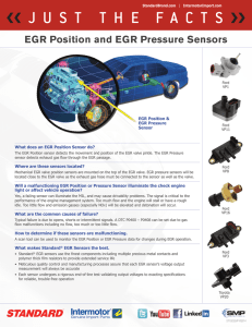 What does an EGR Position Sensor do?