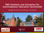 PMU Emulator and Animation for Synchrophasor Education