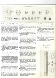 Stereo 416 and PAT-5 Bifet Brochure, Page 2