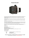 Focus-Iris Unit - Camera Facilities ltd.