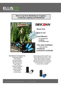 Dryconn Waterproof Connectors