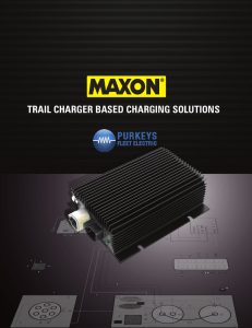 trail charger based charging solutions