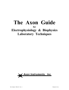 The Axon Guide - Department of Psychiatry