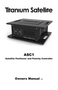 ASC1 Owners Manual