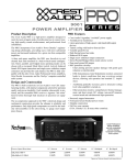 9001 power amplifier