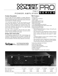 7001 power amplifier