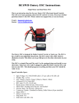 RC4WD Outcry ESC Instructions