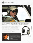 Zulu.2 ANR Headset with Bluetooth®