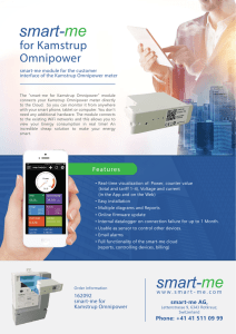 for Kamstrup Omnipower - smart-me