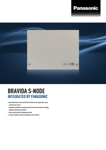bravida s-node - Panasonic Business