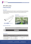 FTN-TP-070 3P LED Lamp