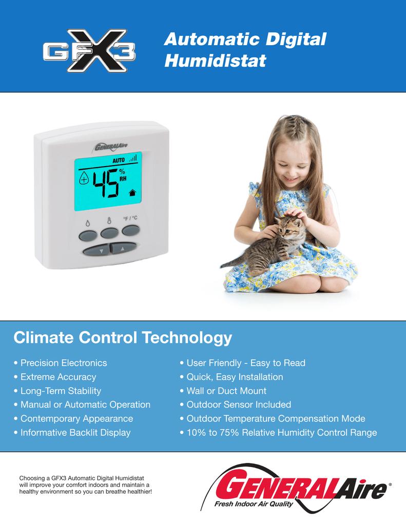 Automatic Digital Humidistat