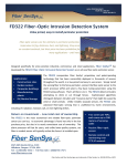 FD322 Fiber-Optic Intrusion Detection System