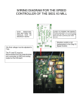 wiring diagram for the speed controller of the sieg x3 mill