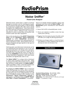 Noise Sniffer
