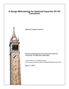 A Design Methodology for Switched-Capacitor DC