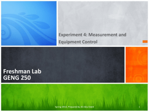 Experiment 4_Measurement and Equipment Control Slides