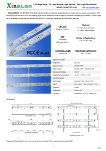 RX-BKT28T-18-50 - XineLam LED products
