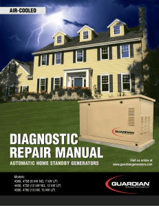 diagnostic repair manual diagnostic repair manual - Generator