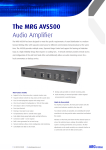 The MRG AVS500 - FindTheNeedle.co.uk