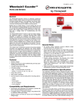 Wheelock® Exceder - Fire-Lite Alarms by Honeywell