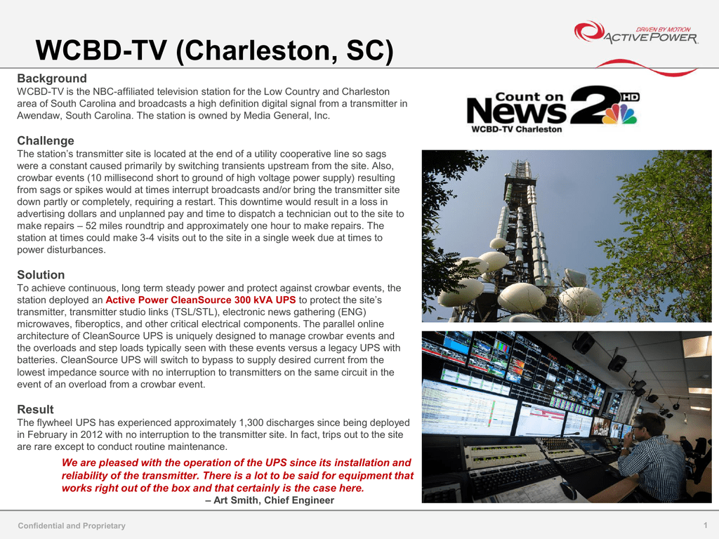 WCBD-TV case study