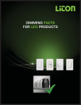 dimming facts for led products