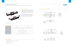 Product Brochure Double Page220 KB