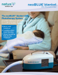 The neoBLUE® blanket LED Phototherapy System