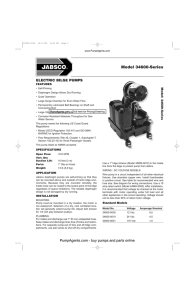 Jabsco Pumps 34600-0000 Pump