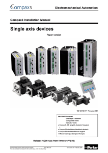 Single axis devices