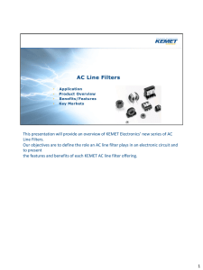 AC Line Filters