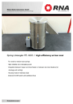 Spring Untangler FE-160S / high efficiency at low cost