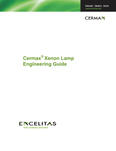 Cermax Xenon Lamp Engineering Guide