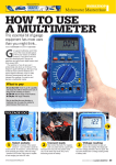 HOW tO uSe a multimeteR G