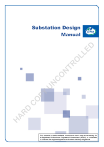 Substation Design Manual