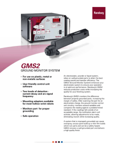 GMS2 Ground Monitoring System - Innovative Finishing Solutions